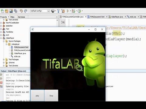 9-  Creating Simple Video Player in JavaFX