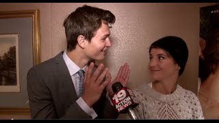shailene woodley ansel elgort on the fault in our stars a deleted scene weird fetishes more