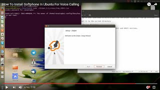 How to install Zoiper in Ubuntu [2016]
