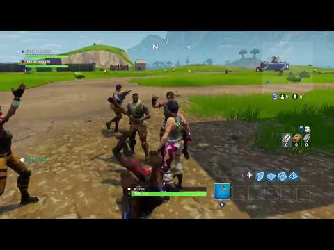 Fortnite Dance Party in the Lobby!!!!!