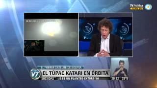 Visión 7: El Túpac Katari en órbita: El primer satélite de Bolivia