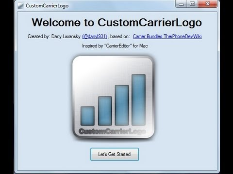 carriereditor windows