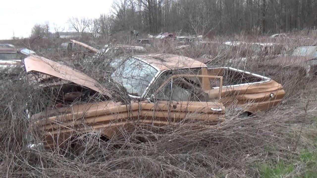 junkyard finds/ classic cars - YouTube