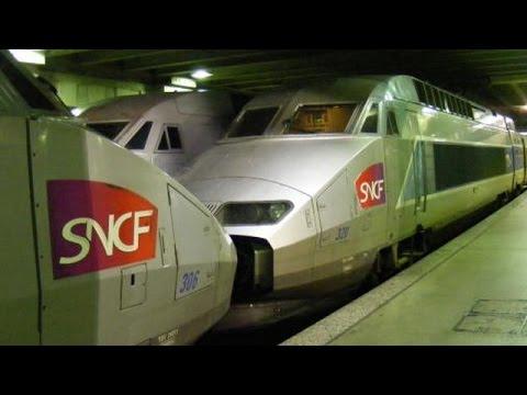 Gare Montparnasse - TGV Atlantique, Duplex, Dasye, Z 26500, Z 55500, B 84500