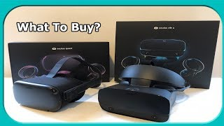 Oculus Quest Vs Oculus Rift S - What Should YOU Buy?