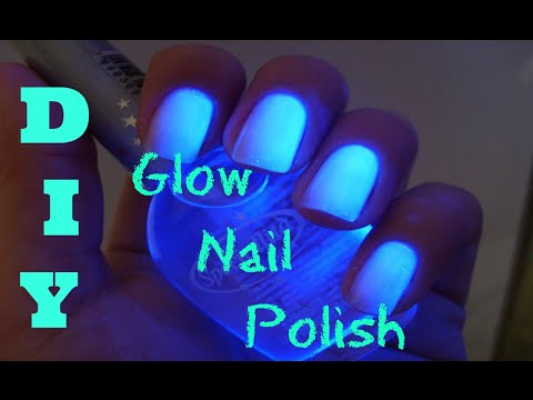 DIY EASY Glow In The Dark NAIL POLISH! Works with ANY Polish! - YouTube