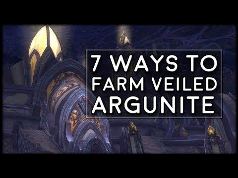 7 Ways to Farm Veiled Argunite for 910 Gear!   World of Warcraft Legion