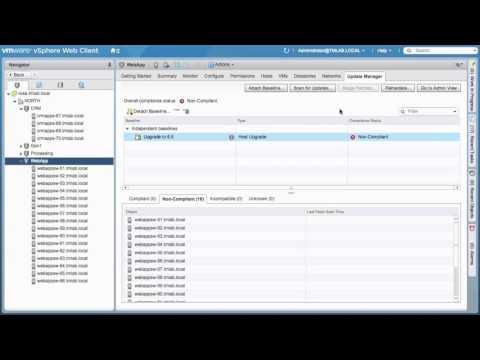 vmware-vsphere-6.5-embedded-update-manager-(vum)-demo