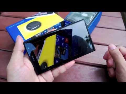 รีวิวแกะกล่อง Nokia Lumia 1020