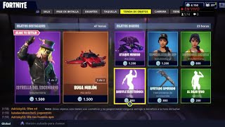 THE *NEW STORE* OF FORTNITE TODAY SEPTEMBER 16 *NEW SKINS* PICO ALADELTA LEGENDARY AND...