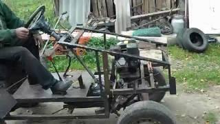 Обзор самодельного трактора