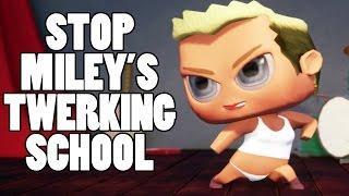 STOP MILEY CYRUS TWERK SCHOOL! - D.G.U. #3