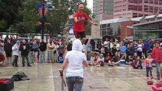 Mr. Spin Unicycle Act - Edmonton Street Performers Festival Thumbnail