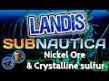 Nickel Ore & Crystalline Sulfur - Subnautica Guide (ZP)