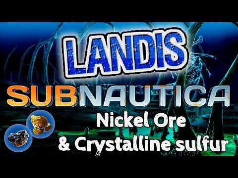 nickel ore crystalline sulfur