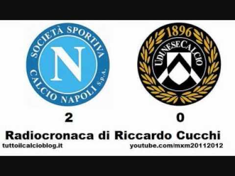 NAPOLI-UDINESE 2-0 – Radiocronaca di Riccardo Cucchi (26/10/2011) da Radiouno RAI