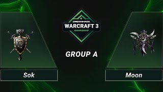 WC3 - Sok vs. Moon - Group A - DH 2020 Regional Championship - Asia