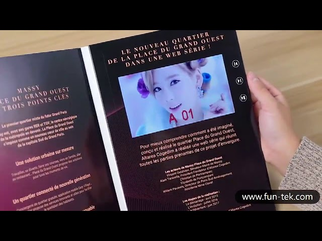 Funtek Video Brochure Design for Brand Promotional Campaigns