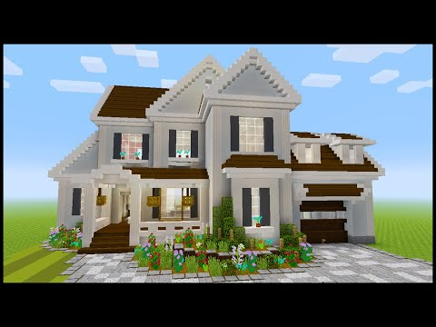 Minecraft: How to Build a Suburban House #5 | PART 4 (Interior 1/2)