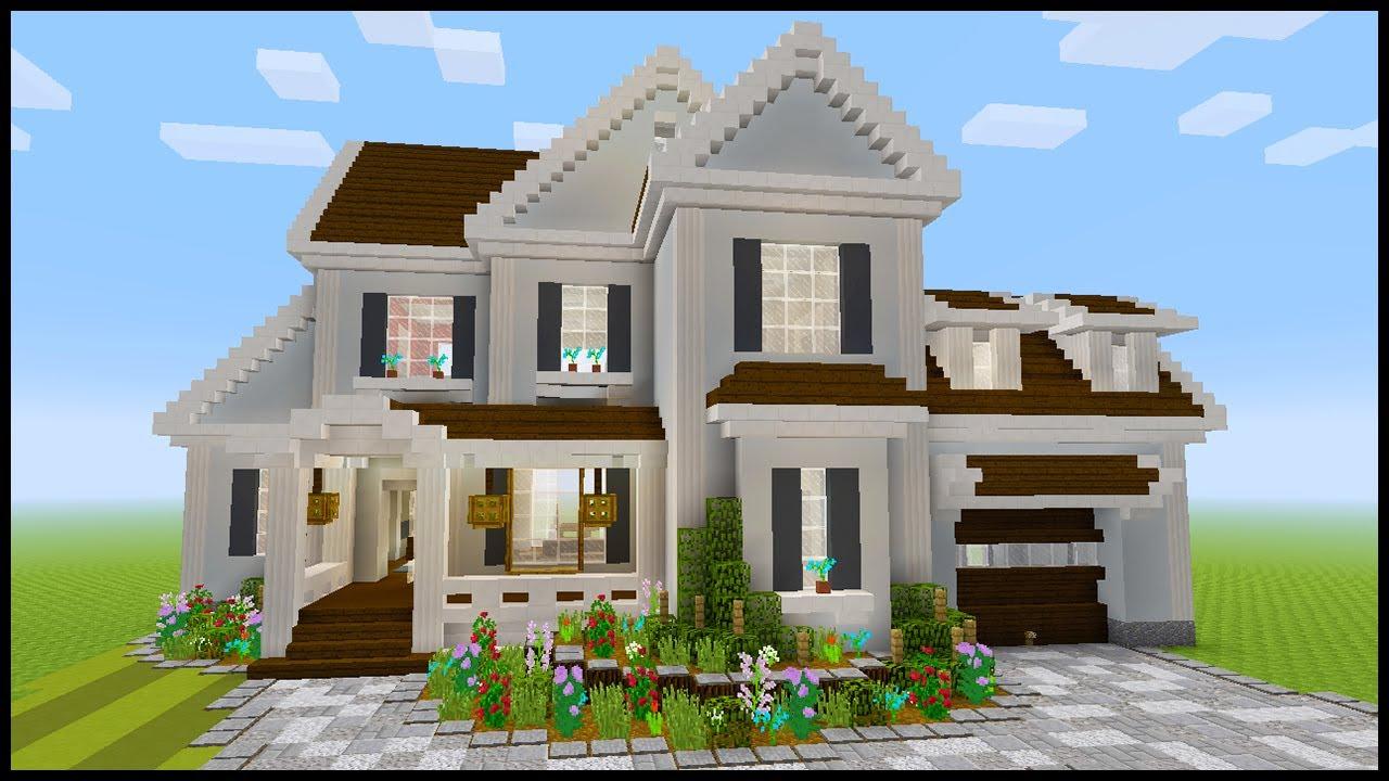 Minecraft  How To Build A Suburban House  5