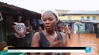 Plus de 300 morts en Sierra Leone après des pluies diluviennes