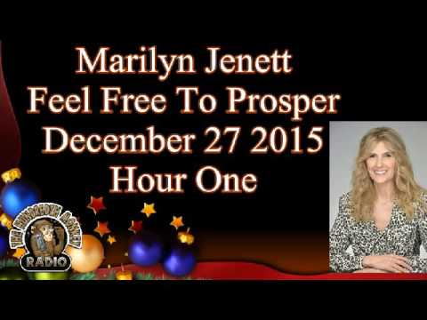 Marilyn Jenett Feel Free to Prosper® Dec 27 2015 On the Hundredth Monkey radio Hour One