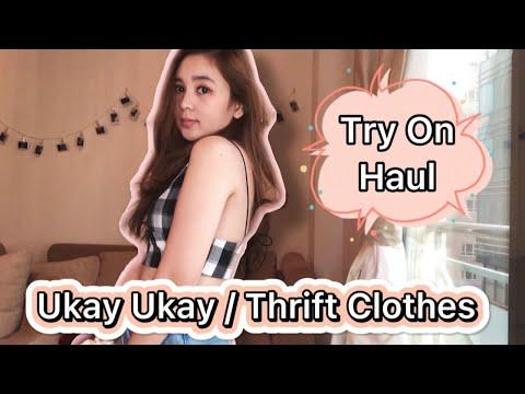 UKAY UKAY / THRIFT CLOTHES TRY ON HAUL   CARMELA N. BACON