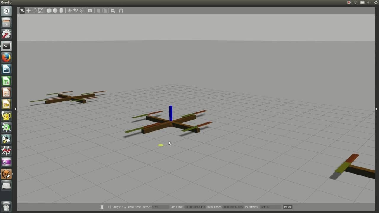 Gazebo Quadcopter Simulation