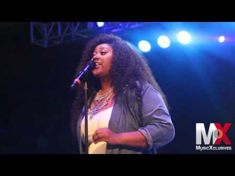 "Jazmine Sullivan Performs ""Lions, Tigers & Bears"" at RCA Summer Concert in NYC"