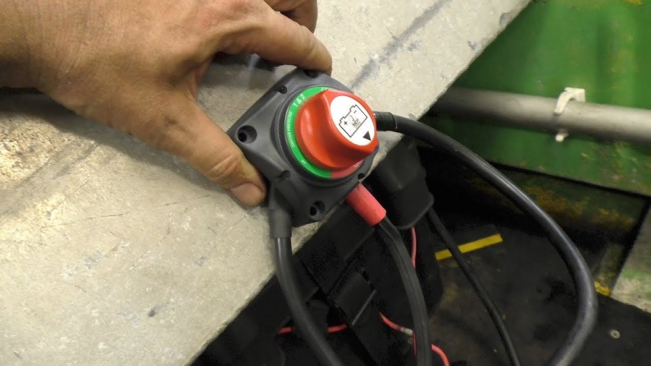 Ez Go Battery Wiring Diagram Car Work Light Installing Dual Batteries On A Boat Youtube