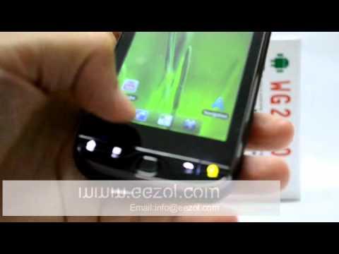 Smart WG2000 WCDMA 3G&GSM Real 3G Dual SIM GPS Wifi 3.8 inch Capacitive Touchscreen phone