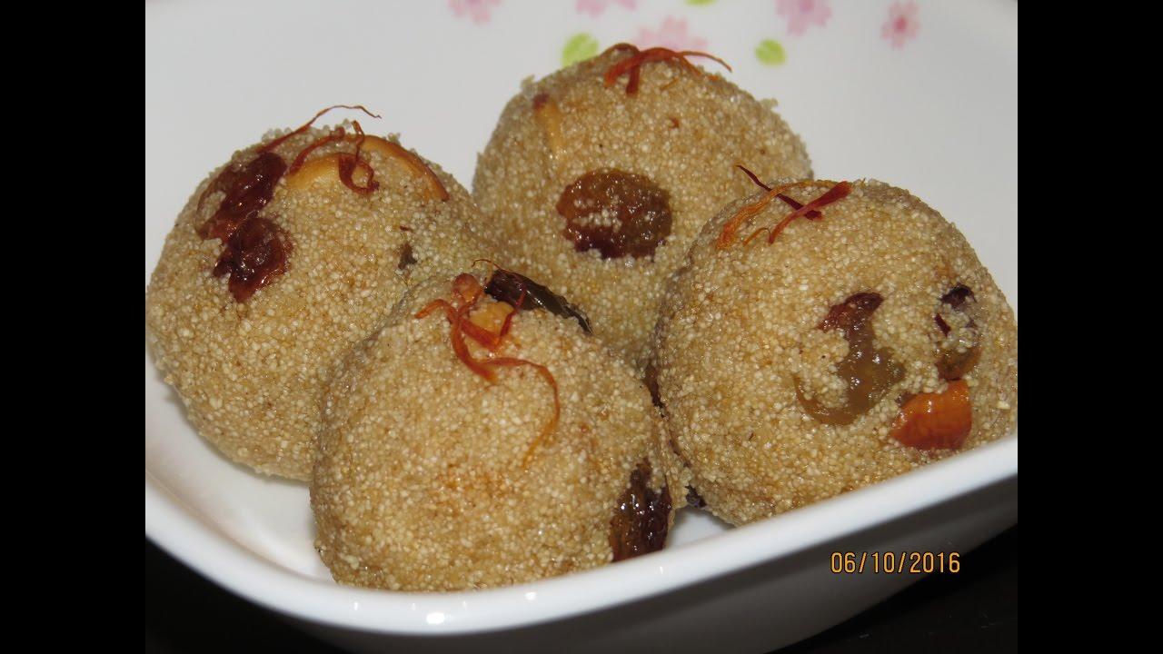 Rava laddu recipe in tamil youtube rava laddu recipe in tamil forumfinder Image collections