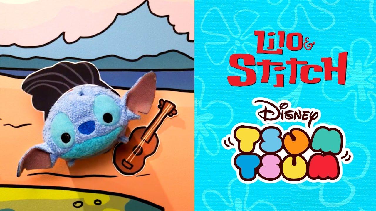 Lilo Stitch As Told By Tsum Tsum Disney Youtube