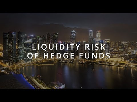 Liquidity Risk of Hedge Funds   SMU Research