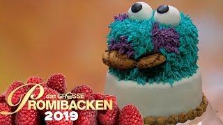 Krümelmonster-3D-Torte: Blümchen liebt Kekse! | 1 | Aufgabe | Das große Promibacken 2019 | SAT.1 TV