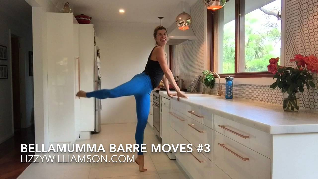 Bellamumma Barre Moves 3 Youtube