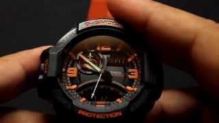Как настроить часы Casio g-shock GA 1000(Как настроить часы Casio g-shock GA 1000., 2014-09-07T12:00:05.000Z)