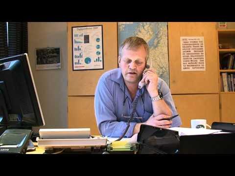 Nils Bjørke verver medlemmer i Norges Bondelag