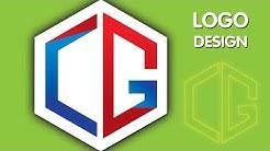 #LogoDesign | CG Logo Design | Logo Design Illustrator Tutorial