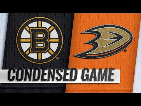 02/15/19 Condensed Game: Bruins @ Ducks