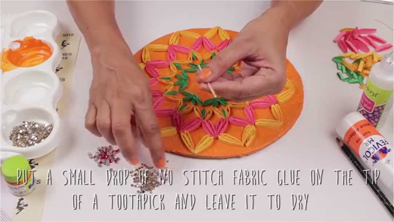 Hobby Ideas Diy Quilling Craft Paper Quilling Rangoli Youtube