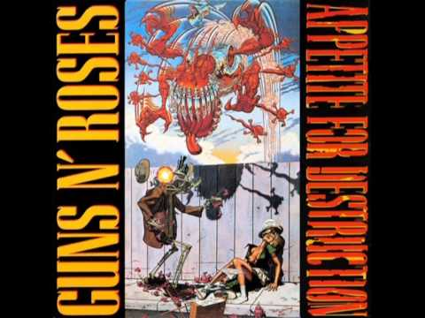 Guns N' Roses - Sweet Child O Mine In E