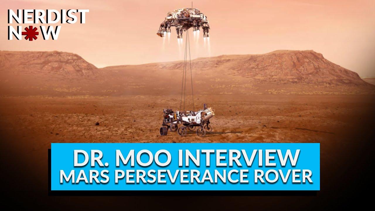 Mars Perseverance Rover Interview with Dr. Moo (Nerdist Now) - Nerdist
