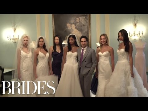 Zac Posen Shows Off His New Wedding Dress Collection, and It's AMAZING | BRIDES