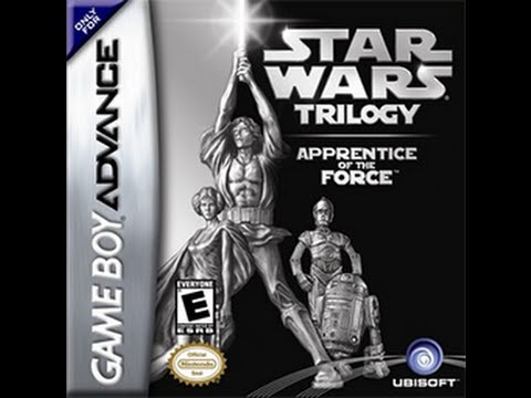 Star Wars Trilogy  Apprentice of the Force (GBA) 2004 EPISODE 4 FULL Playthrough (Прохождение)
