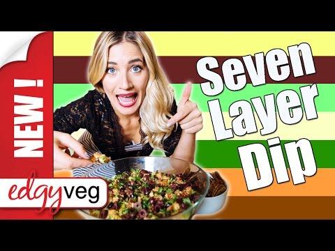 Vegan Recipe: 7 Layer Taco Dip   Edgy Veg