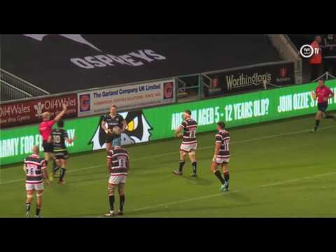 Ospreys TV in Belgium: Sam Davies interview