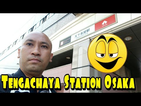 Tengachaya Station Osaka Japan