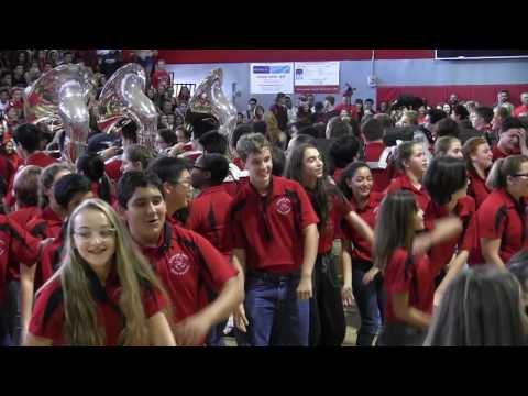 Cooper City High School Pep Rally 2016