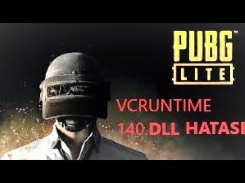 PUBG LİTE VCRUNTİME140.DLL HATASI ÇÖZÜMÜ